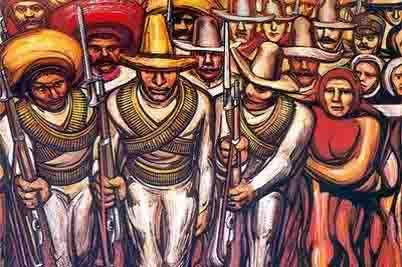 El indio sumiso; el pueblo manso